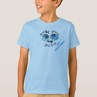 THINK FREE AND FEEL GOOD YOUTH SHIRT