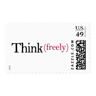 Think Freely Postage