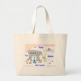 Think Global, Act Local Tote