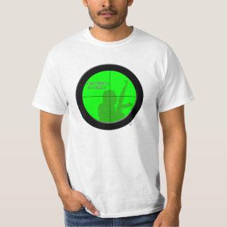 Think Globally Act Locally (Night Scope) T-Shirt