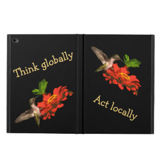 Think Globally Act Locally Powis iPad Air 2 Case