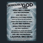 """Think God Can&#39;t Use You? Poster<br><div class=""""desc"""">Poster with a list of people that God used in the Bible</div>"""