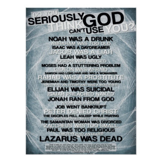 Think God Can't Use You? Poster