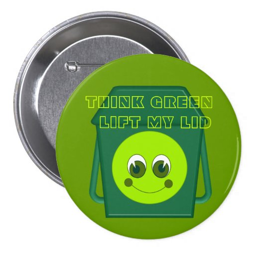 Think Greeen Button