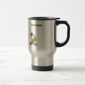 Think Green 2 15 Oz Stainless Steel Travel Mug