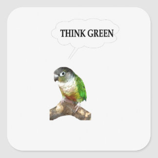 Think Green 2 Stickers