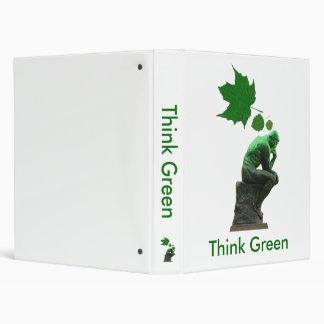 Think Green 3 Ring Binder