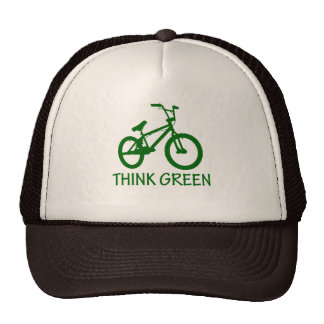 Think Green And Cycle Hat