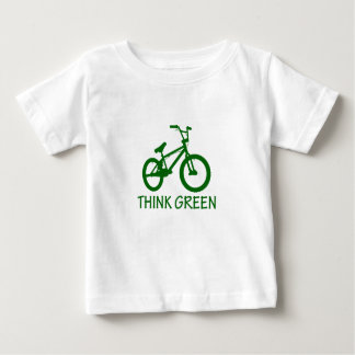 Think Green And Cycle Infant T-Shirt