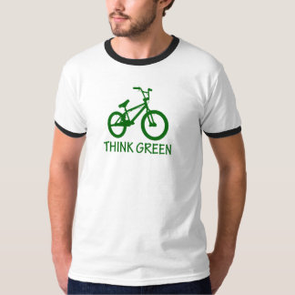 Think Green And Cycle T-Shirt