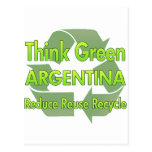 Think Green Argentina Postcards