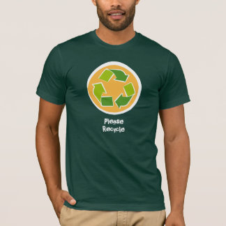 Think Green Awareness Happy Quote T-Shirt