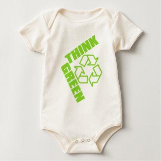 Think_Green Baby Bodysuit