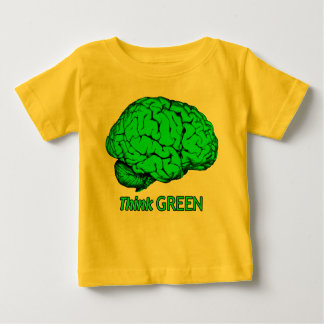 Think GREEN Baby T-Shirt