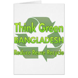 Think Green Bangladesh Card