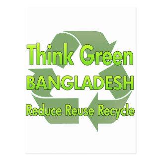 Think Green Bangladesh Post Cards