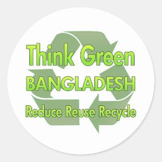 Think Green Bangladesh Sticker