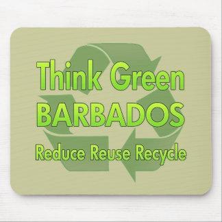 Think Green Barbados Mouse Pad