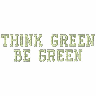 Think Green Be Green