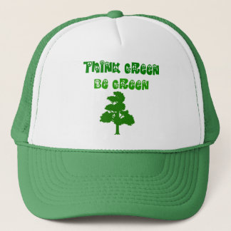 Think Green Be Green Hat