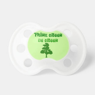 Think Green Be Green Pacifier