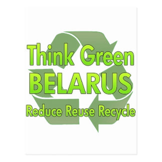 Think Green Belarus Post Cards