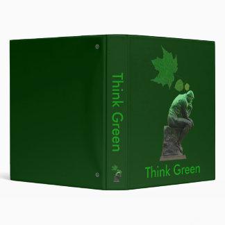 Think Green Binder