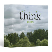 Think Green binder