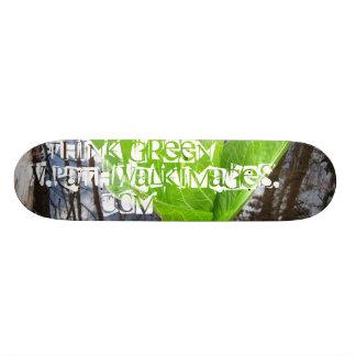 THiNK GREEN Board - www.pathwalkimages.com Skateboard