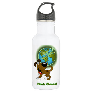 Think Green! - Boots 18oz Water Bottle