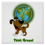 Think Green! - Boots Print