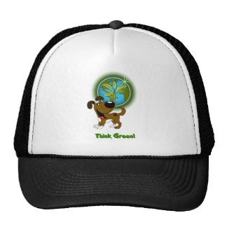 Think Green! - Boots Trucker Hat