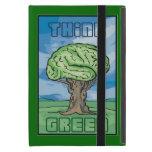 Think Green, Brain Cover For iPad Mini
