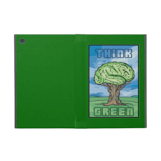 Think Green, Brain Cover For iPad Mini