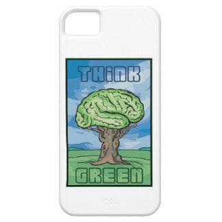 Think Green Brain iPhone SE/5/5s Case