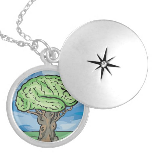 Think Green Brain Jewelry