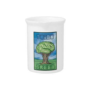 Think Green Brain Beverage Pitchers