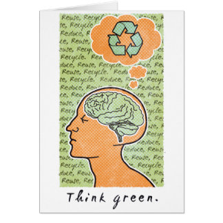 Think Green Brain Power Card