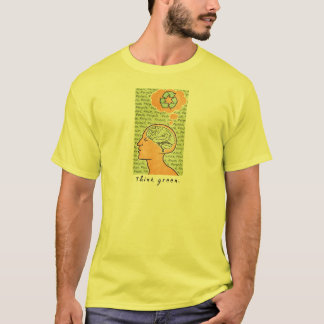 Think Green Brain Power T-Shirt