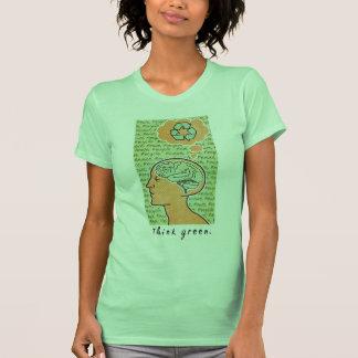 Think Green Brain Power Shirt