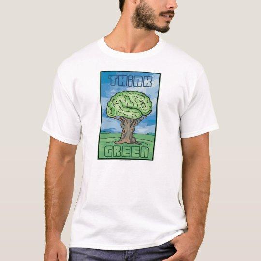 Think Green Brain T-Shirt