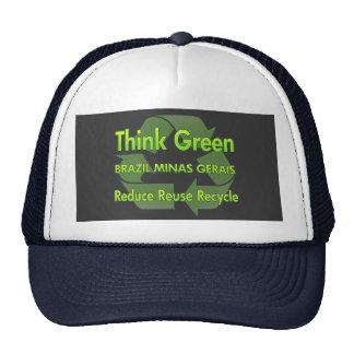 Think Green Brazil Minas Gerais Trucker Hat