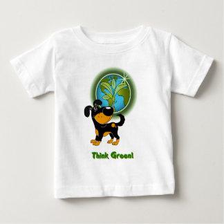 Think Green! (Bubba) Baby T-Shirt