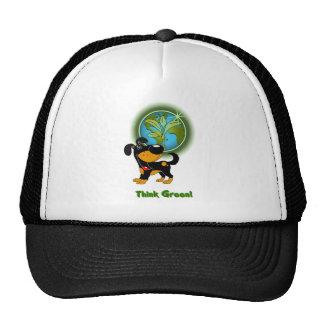 Think Green! - Bubba Trucker Hat