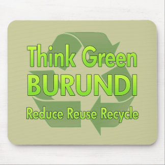 Think Green Burundi Mouse Pad