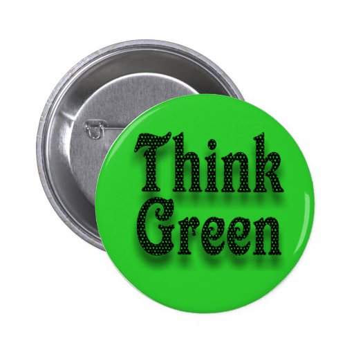 Think Green -Button