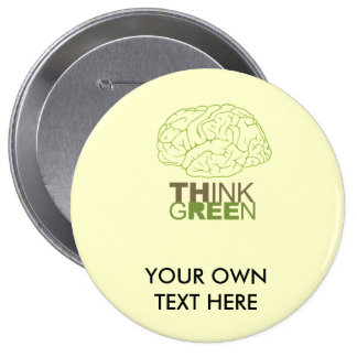 THINK GREEN - BUTTONS
