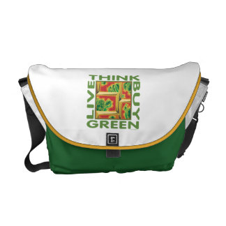 Think Green, Cactus Courier Bag