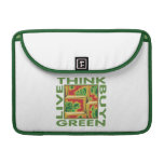 Think Green, Cactus Sleeve For MacBook Pro