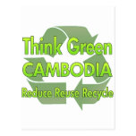 Think Green Cambodia Post Cards